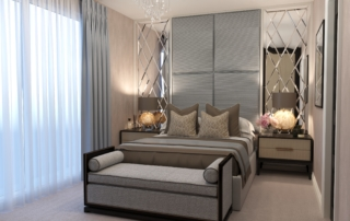 Interior design project of brand new 4-bedroom residence in Surrey