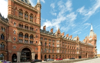 Magnificent 3-bedroom luxury interior design project in St Pancras Chambers, King's Cross